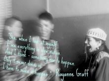 rayanne graff quote