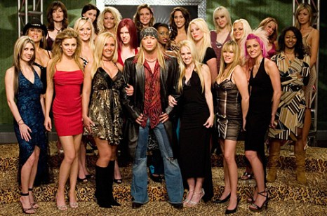 """""""Rock of Love"""" pictured: Brett Michaels (center) cr: Scott Odgers/VH1 Production Stills from the 51 Minds Production"""
