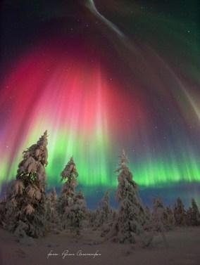Северное сияние в России