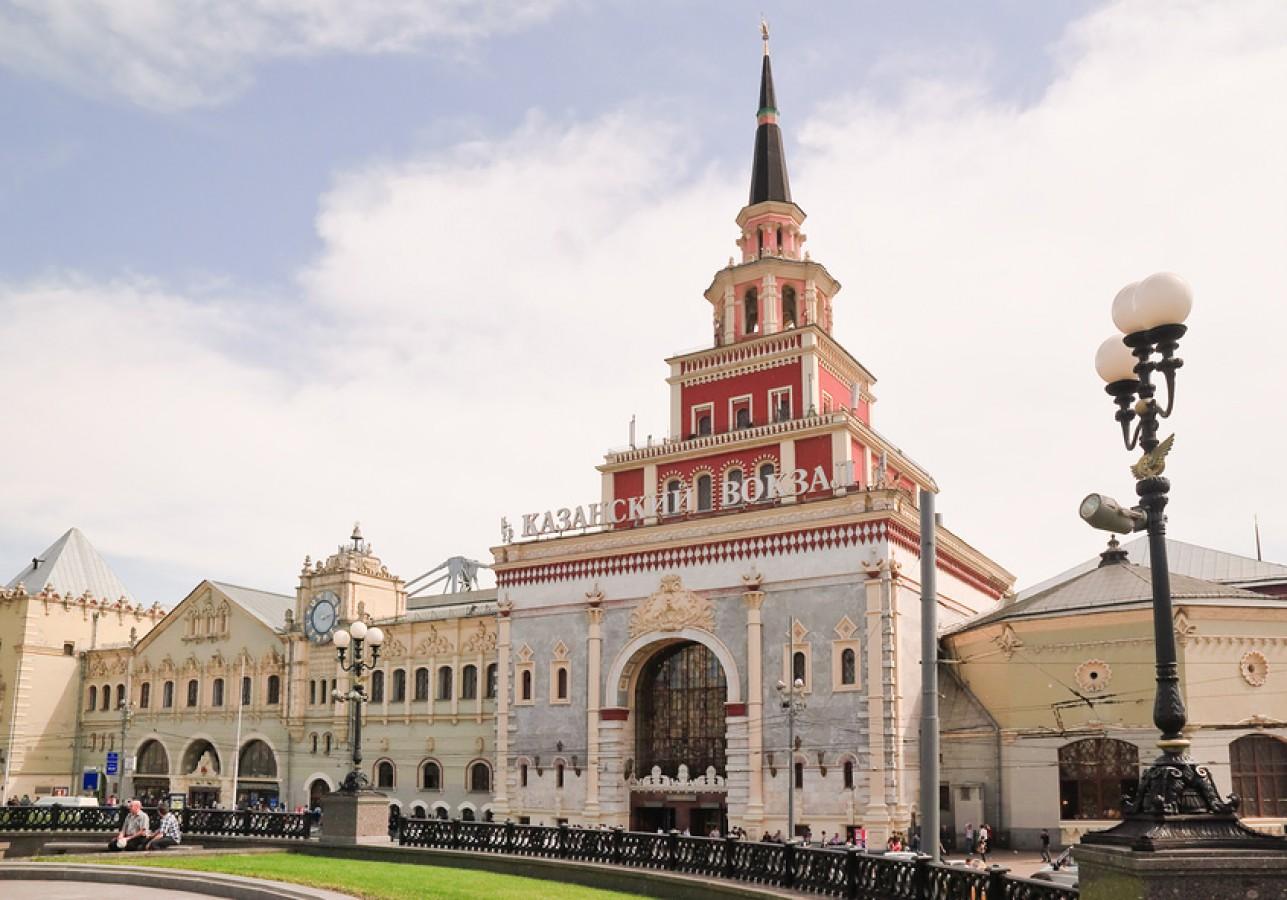 Казанский вокзал картинки