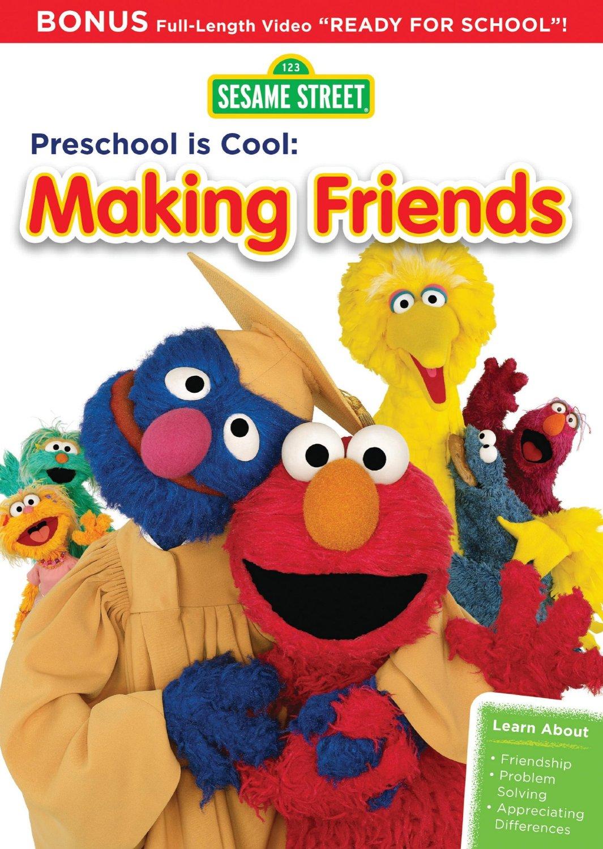 Sesame S Preschool Is Cool Making Friends Dvd Fs