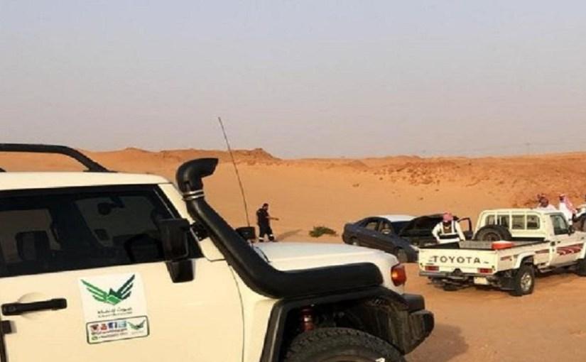 العثور على مفقود الخرج متوفيًا بعد تعطل سيارته وسط رمال الصحراء بالدلم