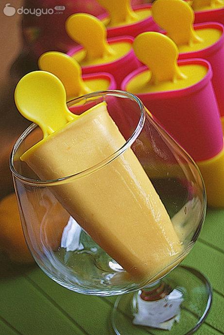奶油芒果雪糕的做法_【圖解】奶油芒果雪糕怎么做如何做好吃_奶油芒果雪糕家常做法大全_伊蓮Helene_豆果美食
