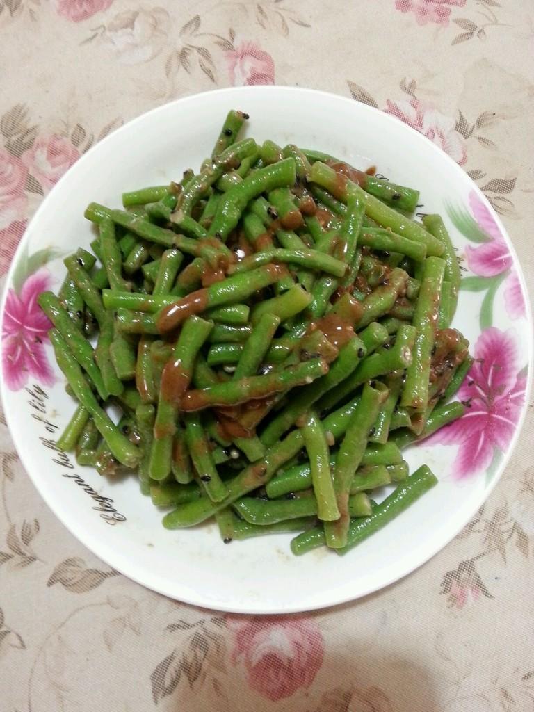 涼拌長豆角的做法_菜譜_豆果美食
