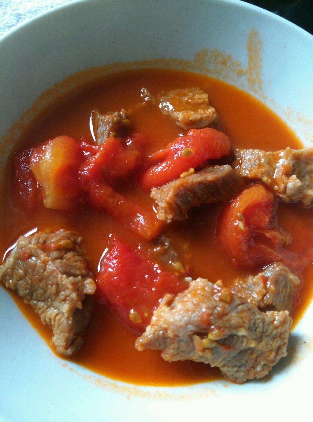番茄牛腩的做法_【圖解】番茄牛腩怎么做如何做好吃_番茄牛腩家常做法大全_哪個昵稱好呢_豆果美食