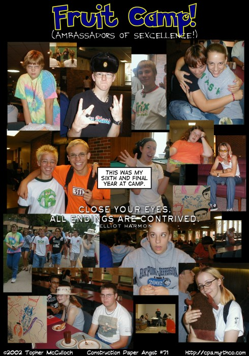 fruit camp memories: day two