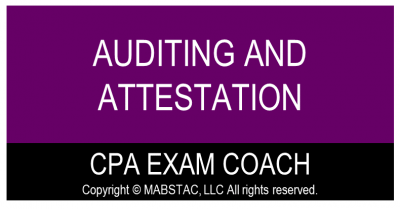 Auditing and Attestation (AUD) CPA Exam Evening Classes Q1 (Classes Starts January 9, 2022)