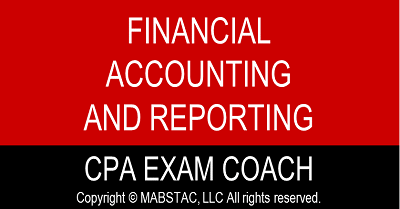 Financial Accounting and Reporting (FAR) CPA Exam Evening Classes Q3 (Starts September 5, 2021)
