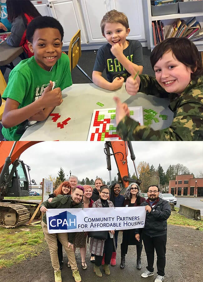 Kids Thumbs Up & CPAH Staff