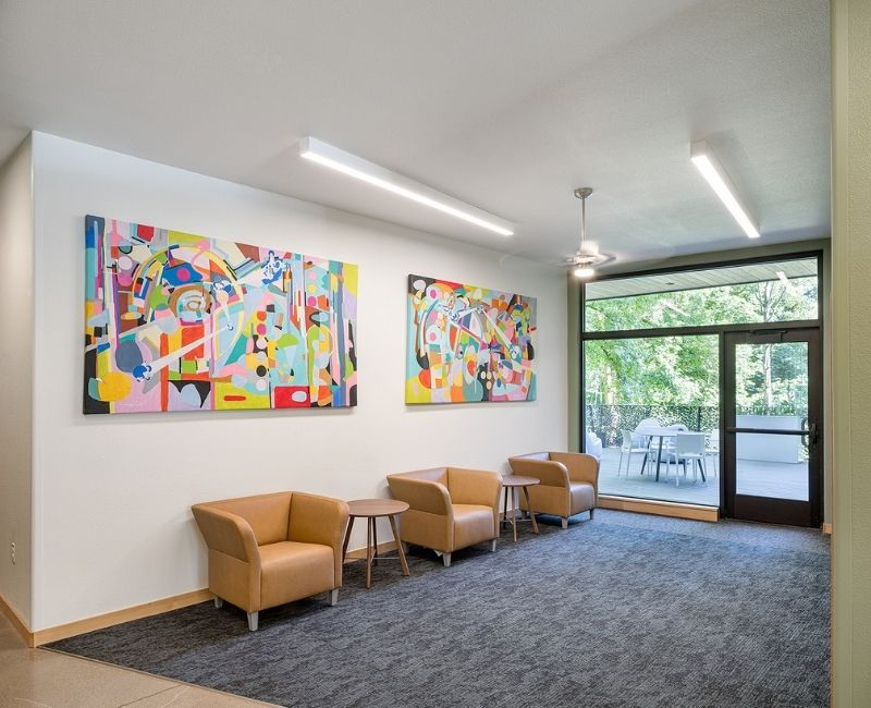 Red Rock Creek Commons Lobby