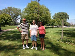 Dan, Andy & Heather