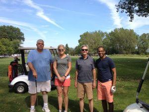 Jeff, Lindsey, Doug & Sam