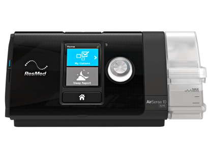 ResMed AirSense 10 CPAP Machine in Black - cpapRX