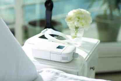CPAP Machine on Bedside Table - cpapRX
