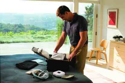 Man Unpacking with Travel CPAP Machine - cpapRX