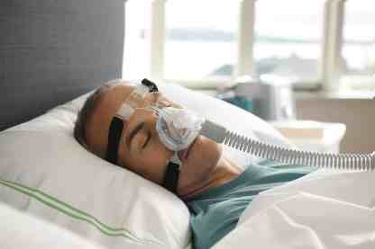 Zest Q - Nasal CPAP Mask in Use