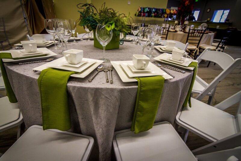 Full wedding set up
