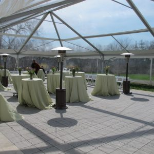 clear top event tent