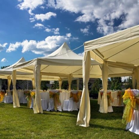 Pop Up Wedding Tents