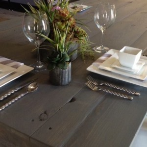 Rustic Farm Tables