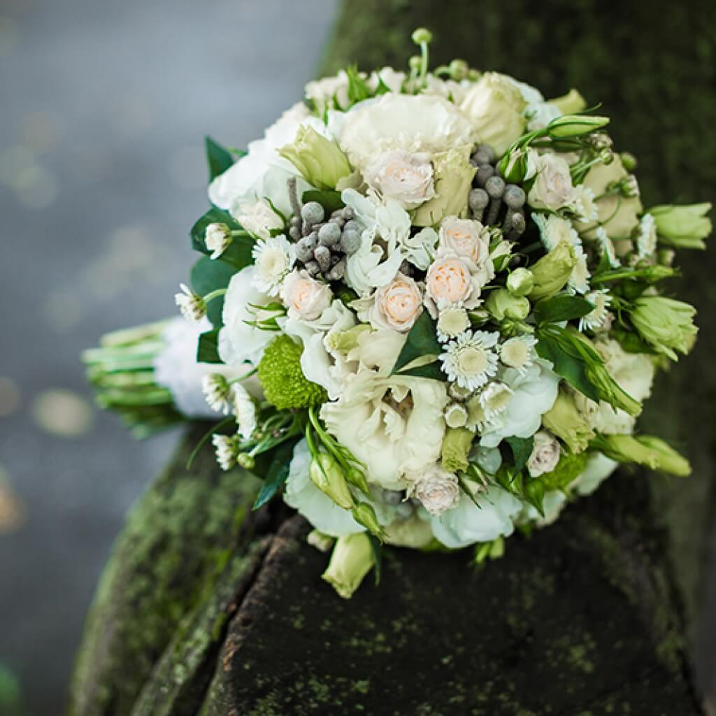 Very beautiful bridal bouquet