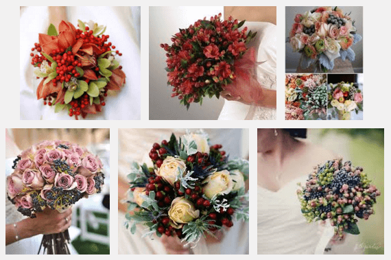 Bouquet trends for 2016