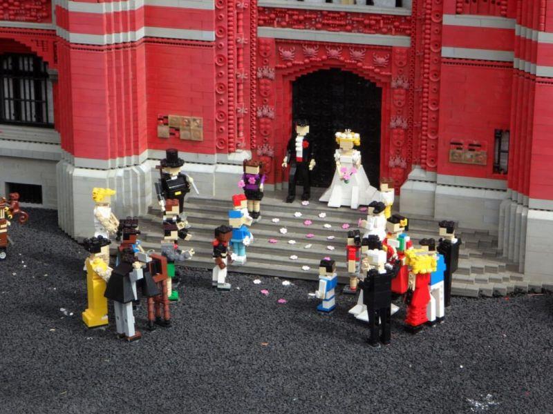 lego wedding theme