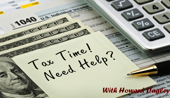 It's Tax Time! Don't Leave It Till The Last Minute – Howard Dagley CPA SCV – QuickBooks Pro Adviser