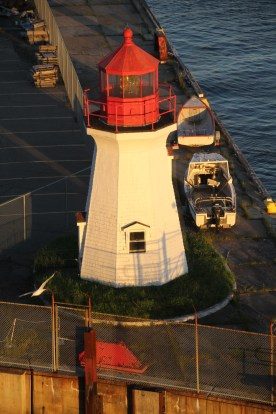 Candian Coast Guard light house, Saint John, NB