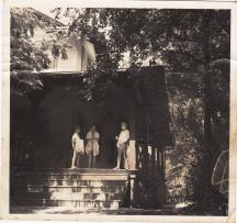 Vintage photo of CPC porch