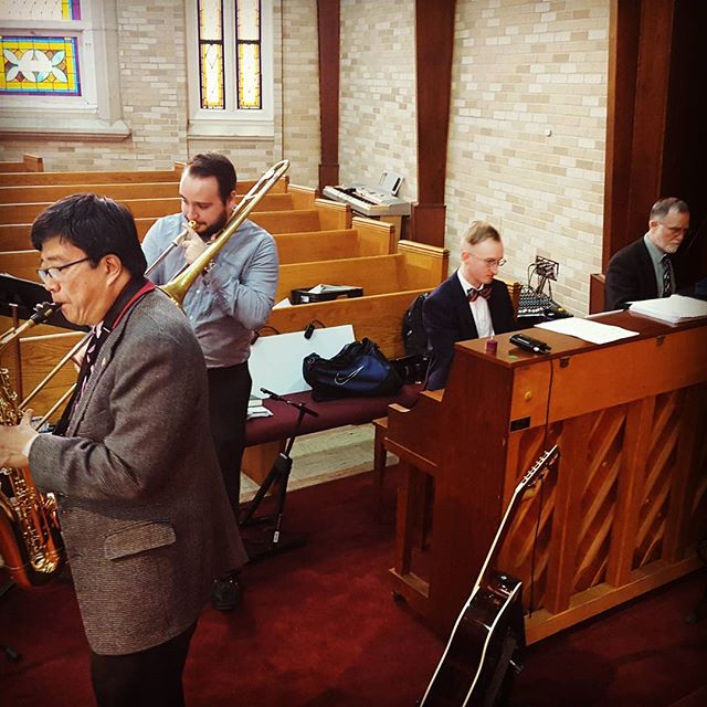 Jazz-infused worship #cpcmidtown #centralpresbyterianchurch #midtownmobile #loveyourneighbor #mobilealabama