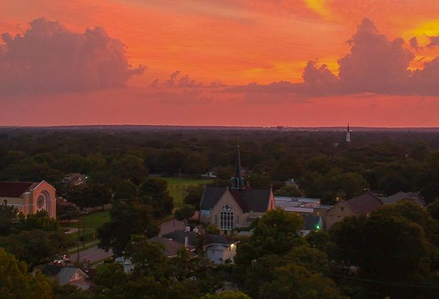 Amazing Photo by Tom Ard of our lovely church and surrounding community