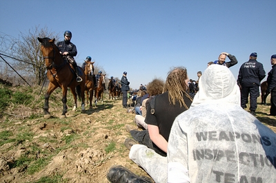Image result for Büchel Air Base protests break in
