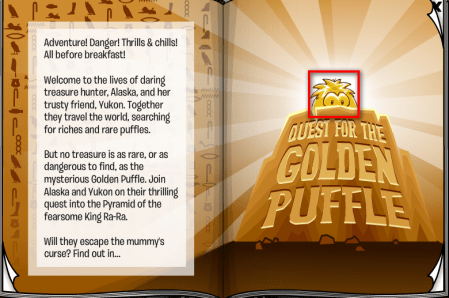 Club Penguin Quest for the Golden Puffle Stage Cheats club penguin