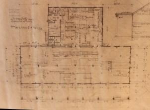 First Floor Plan Photograph