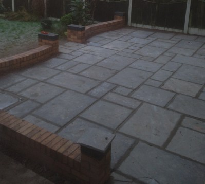 finished patio porthill