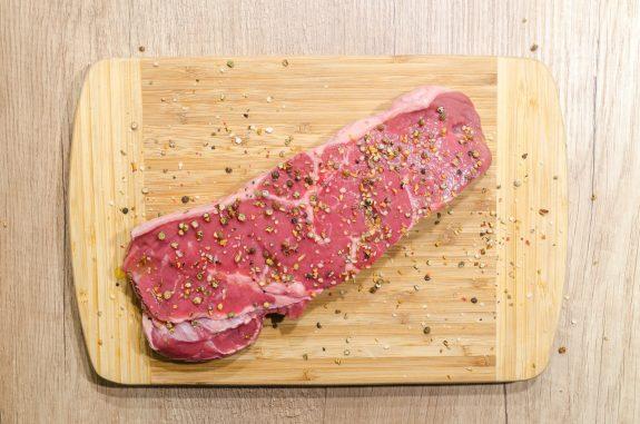 Un steak créé à partir de cellules humaines