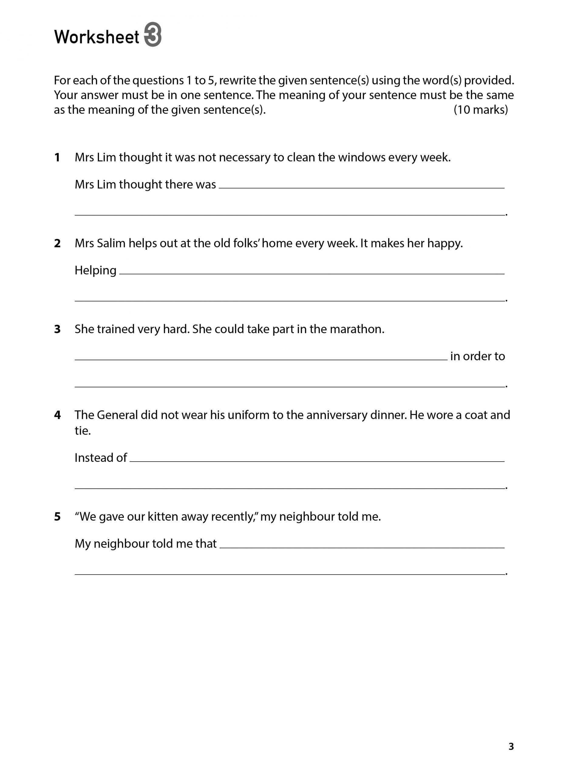 100 English Worksheets Primary 5 Amp 6 Synthesis And
