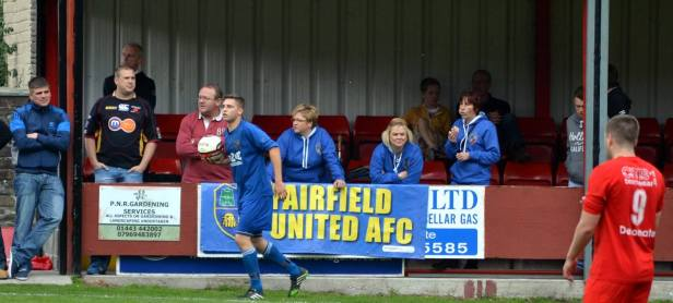 There was great support from the Fairfield United fans.