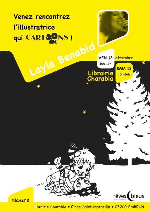 Collection Cartoons - Nours - Layla Benabid