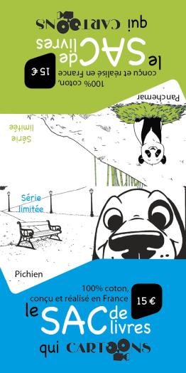 Collection Cartoons - Étiquettes 2 volets - Layla Benabid