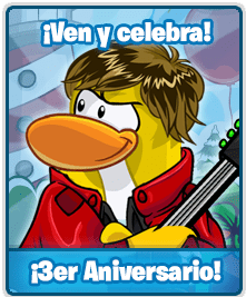 aniversariocps Club Penguin Secret: ¡Tercer Aniversario!