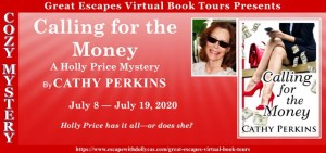 Book tour meme for Calling for the Money