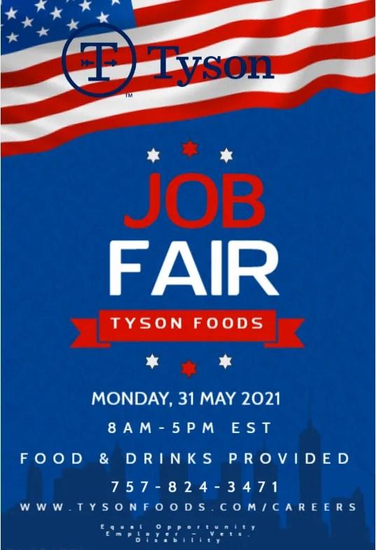 Memorial Day Job Fair