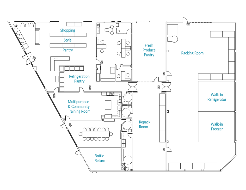 floor plan capital campaign raise funds columbia county