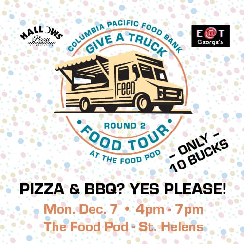 Food bank give a truck event