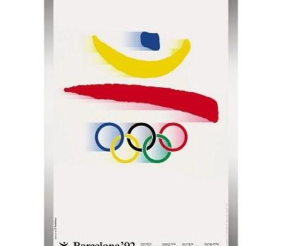 Affiche JO Barcelone 1992