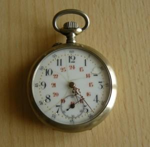 Objet de famille : une montre Tribaudeau