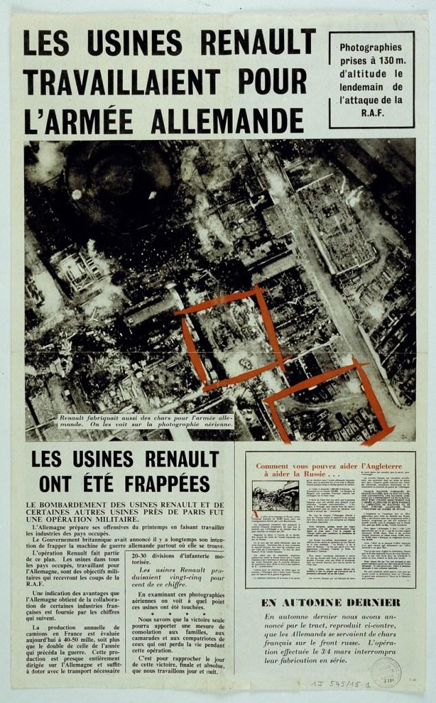 Presse Les usines Renault ont été frappées