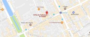 Paris Rue Faubourg du Temple